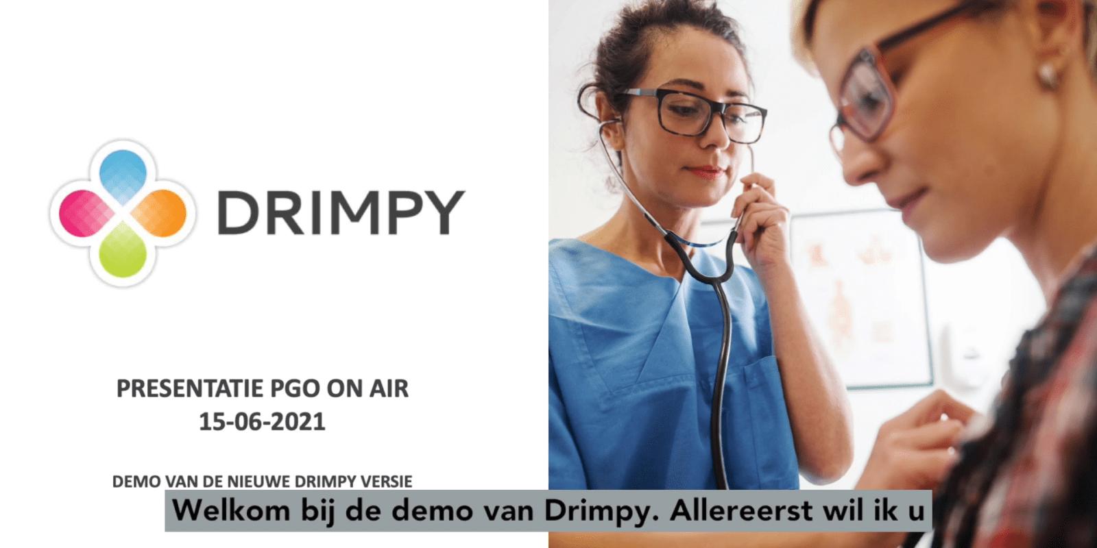 Bekijk dit filmpje voor meer informatie over Drimpy.