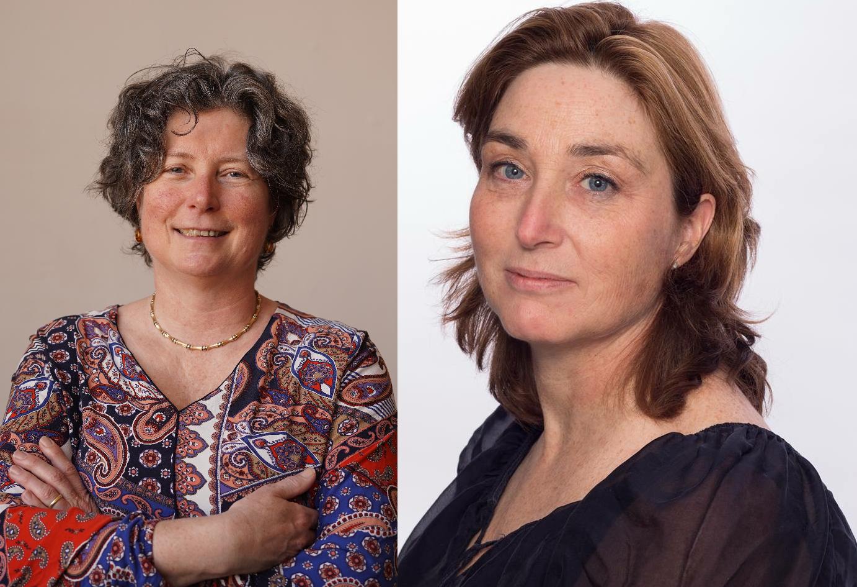 Mariette Driessens en Sigrid Hendriks van de VSOP